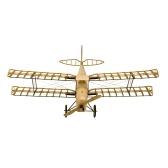 Tanzen Flügel Hobby VX10 1/18 De Havilland Tiger Moth 400mm Spannweite Holz Statische Flugzeug Modell