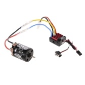 Hobbywing QuicRun WP 1060 Brushed 60A ESC 2-3S 6V/3A BEC and SnowPanther Hobby 540 55T Brushed Motor