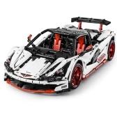 Blocos de construção de tijolos de brinquedo 1:10 icarus rc carro esportivo brinquedo educativo