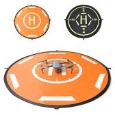 110cm Drones Landing Pad Piattaforme di atterraggio pieghevoli portatili per Mavic Mini Spark Hubsan FIMI Drone