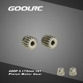 GoolRC 2Pcs 48DP 3.175mm 16T Pinion motoreduktora dla RC Car szczotkowana bezszczotkowy