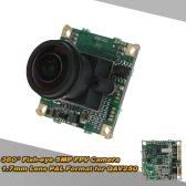 360° Fish-eye 5MP FPV Camera 1.7mm Lens PAL Format for QAV250 FPV Aerial Photography