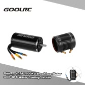 Original GoolRC 4074 2000KV Brushless Motor and 40-S Water Cooling Jacket Combo Set for 1000mm (or Above) RC Boat