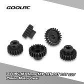 Original GoolRC M1 5mm 18T 19T 20T 21T 22T Welle Stahl Ritzel Motor Getriebe Combot Set für 1/8 Off-Road Buggy Monster Truck RC Car Brushed Brushless Motor