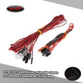 Original Dynam DTM-1031 Airplanes LED Driver w/ LED Lights for 800mm-1400mm RC Fixed-wing Airplane