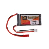 ZOP Power 2S 7.4V 1000mAh 25C LiPo Batteria JST Spina