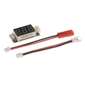 Makerfire RC LiPo Battery Voltage Checker Detector JST 1.25 and JST-PH 2.0 Ports with Micro Losi and JST Cable