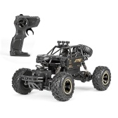 1/16 Off-road Buggy Alloy RC Car 2.4GHz 4WD 15 km / h Coche de escalada de alta velocidad RTR