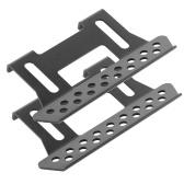 Cursori a gradini laterali a pedale in metallo per auto RC