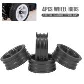 4 PCS Metal Wheel Hub 1/28 RC Car Wheel Kit para WLtoys K989 K999 K979 RC Acessórios para carros