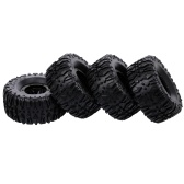4pcs 135mm 2.2 Inch Rim Rubber Inflatable Tyre Tire Wheel