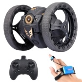 805 2WD 2.4Ghz RC Bounce Car RC Jump Car Remote Control Stunt Car Watch Induction 360° Rotation 27.6 inches Bouncing Music Led Light