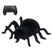 Радиоуправляемый альпинистский паук Пульт дистанционного управления Уродливые игрушки Восхождение на машину Забавный Хэллоуин Жуткий паук