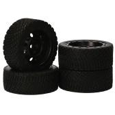 AUSTAR 8006 + 801 4 pièces RC pneus 65*25 MM pneus en caoutchouc pour voiture de course 1/10 Compatible avec HSP94123 LC PTG-2