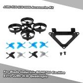 H36 inferiore del corpo della fotocamera 4 Coppia Elica di fissaggio Mount Set per Blade Inductrix BLH8700 BLH8580 NH-010 E010 JJRC H36 RC Quadcopter