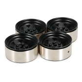 4pcs 1.9 Inch 1/10 Wheel Hub Deadlock Metal Wheel Rim for 1/10 D90 SCX10 CC01 RC4WD RCRUN RC Crawler Parts