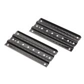 4pcs alluminio sabbia scala per 1:10 RC Crawler assiale SCX10 RC4WD CC-01 TRX-4