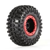 4pcs AUSTAR AX-3021A 130 mm llanta de goma 2.2in juego de ruedas para Axial SCX10 RC4WD D90 1/10 RC Rock Crawler Car