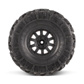 4szt AUSTAR AX-4021E 132mm 2.2 inch Rim Rubber Wheel Wheel Set dla Axial SCX10 RC4WD D90 1/10 RC Rock Crawler samochodów