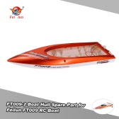 Original FT009 Boat Hull with Cooling Pipe Boat Spare Part for Feilun FT009 RC Boat