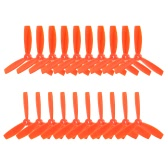 10 Pairs 5045 3-blade CW CCW Bullnose Propeller for QAV250 280 210 Racer 250 Walkera Runner 250 FPV Racing Quadcopter