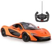 Oryginalny RASTAR 75100 27MHz / 40Mhz 1/14 McLaren P1 RC Super Sports Car model symulacyjny z pilotem drzwi