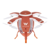 Attop W5 Flying Egg Drone WIFI FPV Plegable RC Quadcopter con cámara 0.3M Altitude Hold