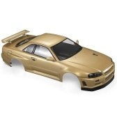 Killerbody 48716 Nissan Skyline (R34) Finished Body Shell Frame for 1/10 Electric Touring RC Racing Car DIY
