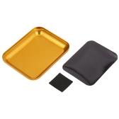 Piatto vassoio magnetico in lega di alluminio per RC Crawler