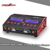 Ultra original 2en1 Poder UP240AC DUO 240W LiPo NiMH NiCd RC descargador del cargador del balance