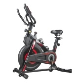 M&T YS-7020 Indoor Cycling Stationary Exercise Bike with Resistance LCD Display 100kg Load Capacity
