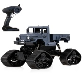 ZEGAN ZG-C1231WS 1/12 2.4G 4WD Off-road RTR RC Military Car Electric Snow Rock Crawler for Kids