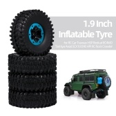 4pcs 120mm 1.9 Inch Rim Rubber Inflatable Tyre Tire Wheel for RC Car Traxxas HSP Redcat RC4WD Tamiya Axial SCX10 D90 HPI RC Rock Crawler