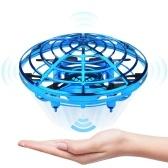 Mini Drone UFO Hélicoptère À La Main Quadrocopter Drone Infrarouge Avion Avion Flying Ball Jouets Pour Enfants