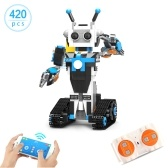 420pcs Robotic Building Block 2.4GHz APP Control RC Robot