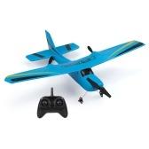 Z50 2.4G 2CHリモートコントロールグライダー350mmウィングスパンEPPマイクロ屋内RC飛行機(ジャイロRTF付き)
