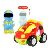 RC Cartoon Race Car with Music and Lights
