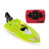 HUANQI 2.4G Portable High Speed Mini RC Racing Boat