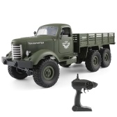 JJR / C Q60 1/16 2.4G 6WD RC Off-Road Crawler Camión Militar Army Car Children Gift Kids Toy para Niños RTR