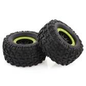 2pcs AUSTAR 165mm 3.8 Inch Rim Rubber Tyre Tire Wheel