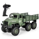 JJR/C Q68 2.4GHz 6WD 1/18 RC Off-road Military Truck RC Toy