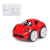 2.4G Mini Carro Evitar Objetos Seguir Modo Track Drive Efeitos Sonoros 360 Graus de Rotação Carro de Controle Remoto