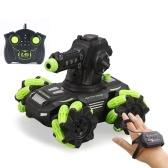 SY020-1 2.4 Ghz Remote Control Car Water Boom Blindato Stunt Car Drift Wheel RC Auto con luce e spray