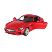 Original RASTAR 74000 27MHz 1/14 Mercedes-Benz AMG GT RC Super Sports Car Simulation Model with Remote Control Door