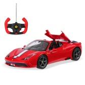 Oryginalny Rastar 74500 1/14 Ferrari 458 Speciale Wersja kabrioletowa Drift RC Car