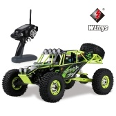 Wltoys 1/10 2.4G 4WD 30km / h voiture RC haute vitesse hors route voiture RC Rock Crawler Cross-country RC Truck