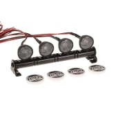 RC Car Round LED Light & Cover per 1/10 RC Crawler Axial SCX10 D90 110 Traxxas TRX-4 Tamiya HSP RC Ricambi auto