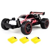 KY 1881 2.4GHz 20km/h 2WD 1/20 Brushed Electric Buggy RTR RC Car w/ Three Batteries