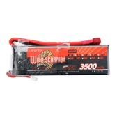 Wild Scorpion 7.4V 3500mAh 30C MAX 40C 2S T Plug Li-po Battery for RC Car Airplane Helicopter Part