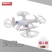 Seconda mano SYMA X8C 2.4G 4CH 6-Axis Gyro R / C Quadcopter RTF Drone con 2.0MP HD Camera Speed Mode Modalità senza testa e 3D Eversion